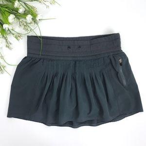 Lululemon Skort Skirt with Shorts Dark Gray Size 4